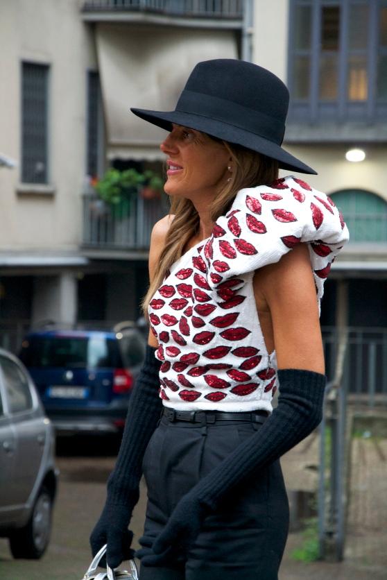 Anna Dello Russo Milano Fashion week